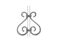 Декоративный кованый элемент №11