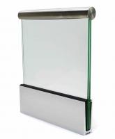Зажимной профиль для стекла 001.01