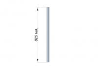 Стойка 38.1х1.5 (L-825) AISI 201 крепление - фланец или Аl. стакан