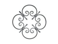 Декоративный кованый элемент №30