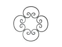 Декоративный кованый элемент №17