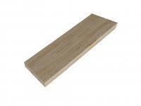 Деревянный подступенок (дуб) (1000х200х20)