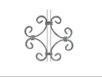 Декоративный кованый элемент №10