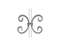 Декоративный кованый элемент №13