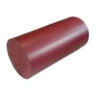 Поручень пластиковый круглый d=49 мм  цвет: венге