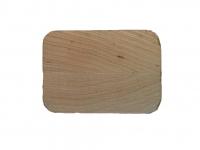 Поручень деревянный профильный (дуб) ширина-65 мм высота 40 мм