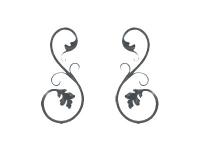 Декоративный кованый элемент №02