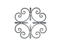 Декоративный кованый элемент №29