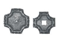 Накрывка под трубы 65х65, 75х75 №04