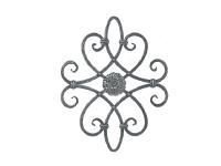 Декоративный кованый элемент №07