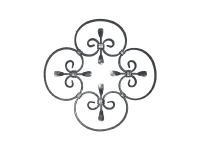 Декоративный кованый элемент №19