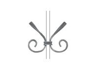 Декоративный кованый элемент №14