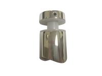 Стеклодержатель под трубу 50.8, для стекла 8-10 мм, штамповка