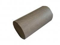 Поручень деревянный 50 мм. (Дуб)(не крашеный)