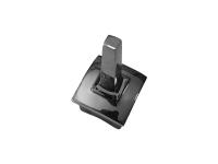 Держатель поручня прямой (под сварку), не регулируемый для стойки 40х40х1,5 мм сс32