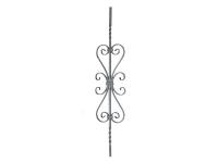 Декоративная кованая балясина №44