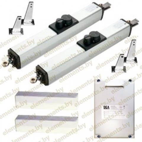 Комплект гидравлических приводов для распашных ворот KIT OLI 603L