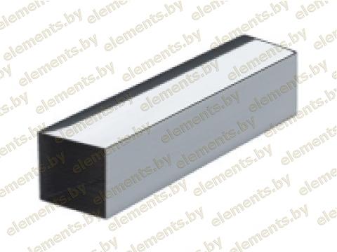 Труба профильная 60 х 40 х 2 мм. AISI 304 (шлифованная или зеркальная)