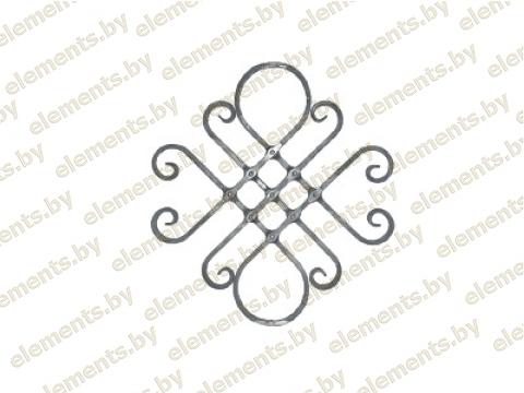 Декоративный кованый элемент №32