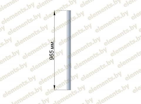 Стойка 38.1х1.5 (L-965) AISI 201 крепление - бурение