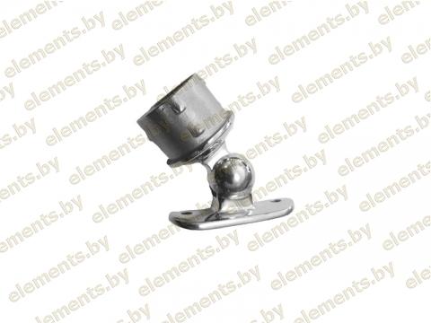 Держатель поручня, регулируемый (сборный), для стойки 38,1х1,5 мм, поручень 50,8 мм сс34