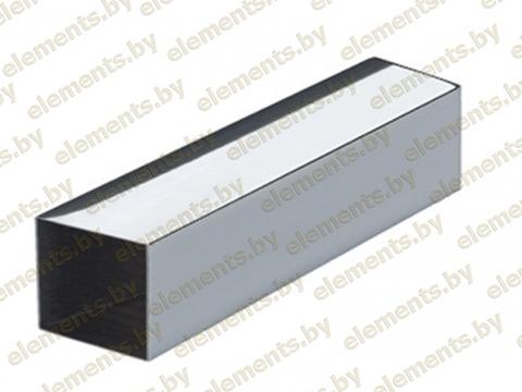Труба профильная 20 х 20 х 1.5 мм. AISI 304 (шлифованная или зеркальная)