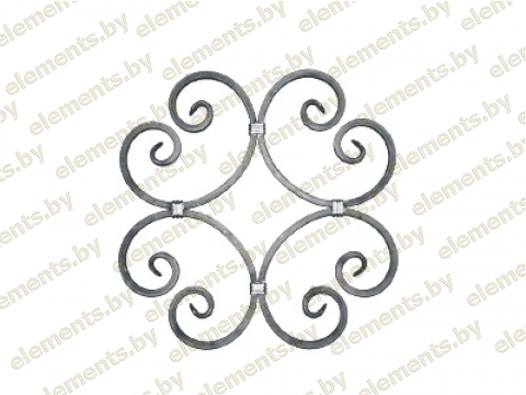 Декоративный кованый элемент №24