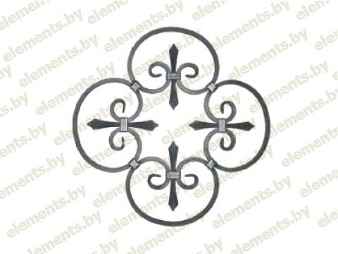 Декоративный кованый элемент №27