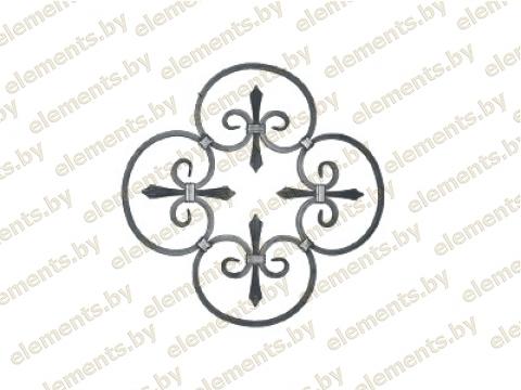 Декоративный кованый элемент №23