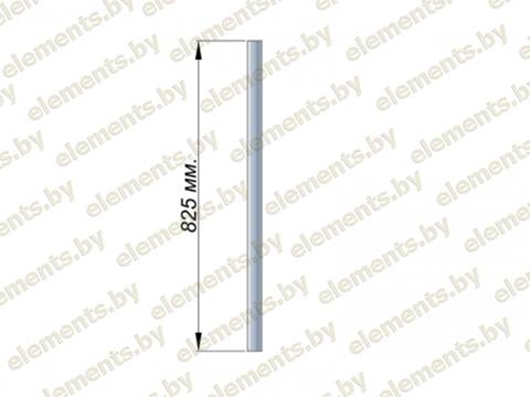 Стойка 38.1х1.5 (L-825) AISI 304 крепление - фланец или Аl. стакан