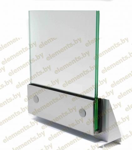 Зажимной профиль для стекла 02.02