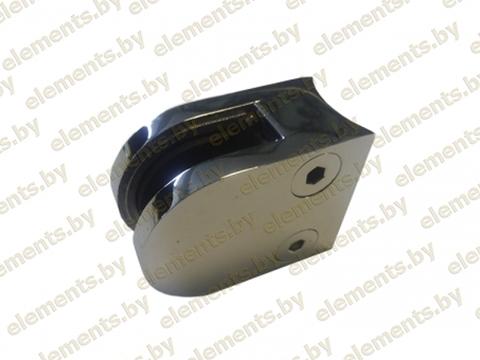 Стеклодержатель под трубу 38.1- 42.4х1.5 мм для стекла 6-8 мм,8-10 мм,литье,сс103