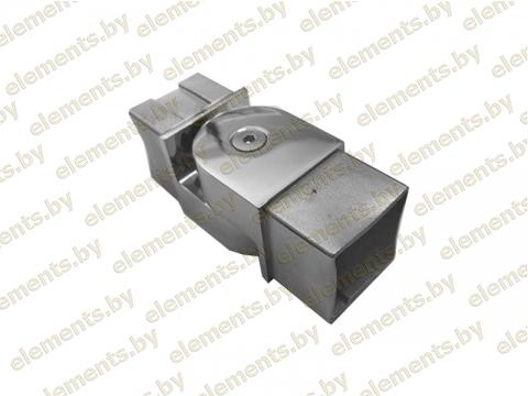 Соединительный элемент регулируемый в одной плоскости, (сборный) для трубы 40х40х1,5 мм сс65