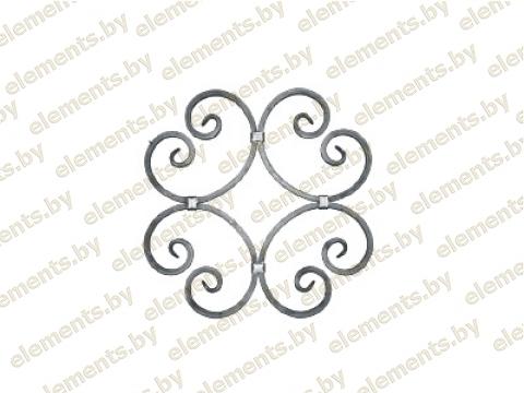Декоративный кованый элемент №20