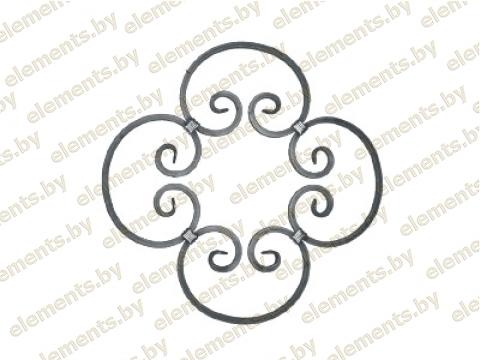 Декоративный кованый элемент №25