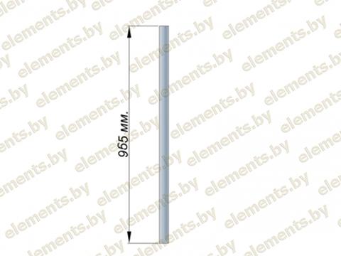 Стойка 38.1х1.5 (L-965) AISI 304 крепление - бурение
