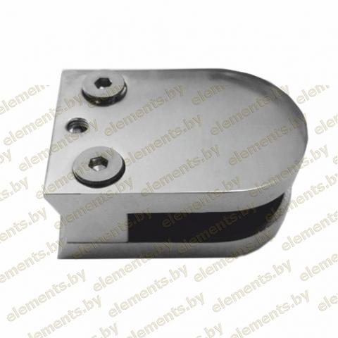 Стеклодержатель под трубу 38,1, для стекла 8-10 мм, литой 63х45 сс104